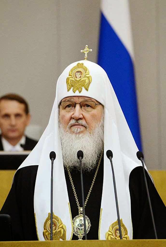 O patriarca Kirill na Duma exortou a restaurar valores soviéticos  elogiou a atual política vaticana.