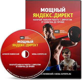 Видеокурс «Мощный Яндекс.Директ» - новинка 2013 года.