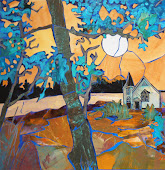Blue Tree by Church SOLD