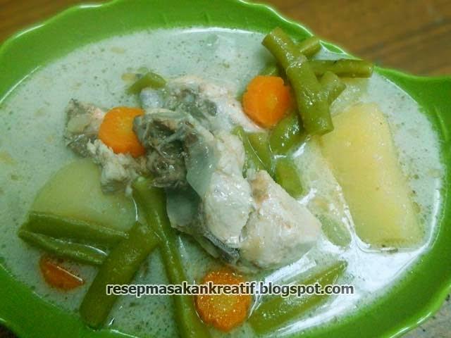 Cara Membuat Opor Ayam Sayur Kuah Putih