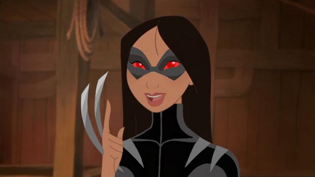 Princesas da Disney agora como personagens de X-Men