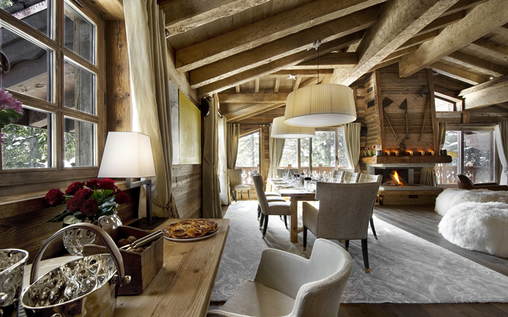 30 rustic chalet interior design ideas - Rustic Interiors Photos