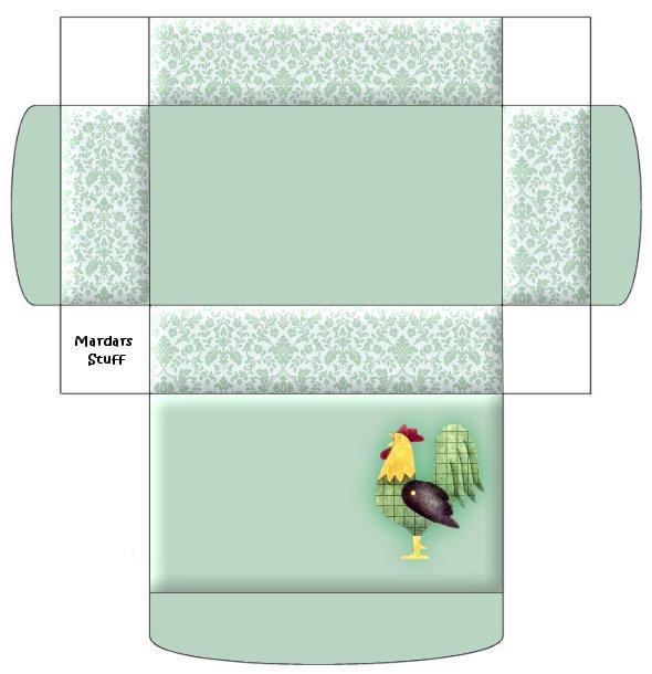 moldes de cajas para imprimir : manualiteca