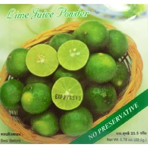 Dehydrate lime juice-OJ lime juice review