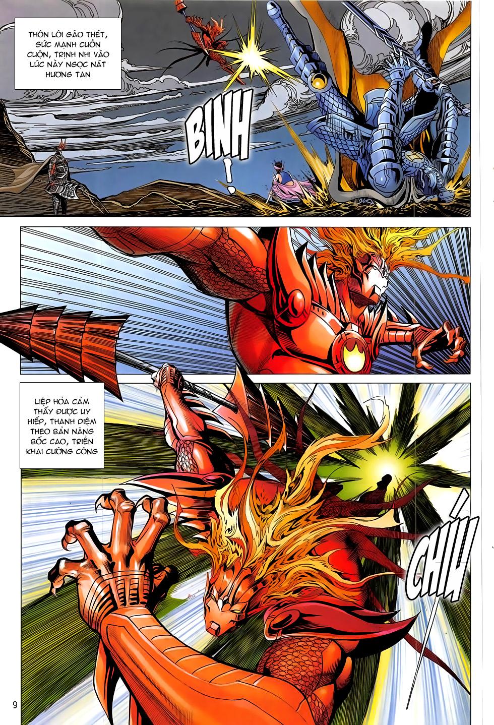 Chiến Phổ chap 20 - Trang 10