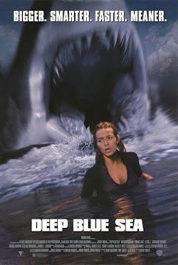 Đại Dương Kinh Hoàng - Deep Blue Sea 1999 (1999) Poster