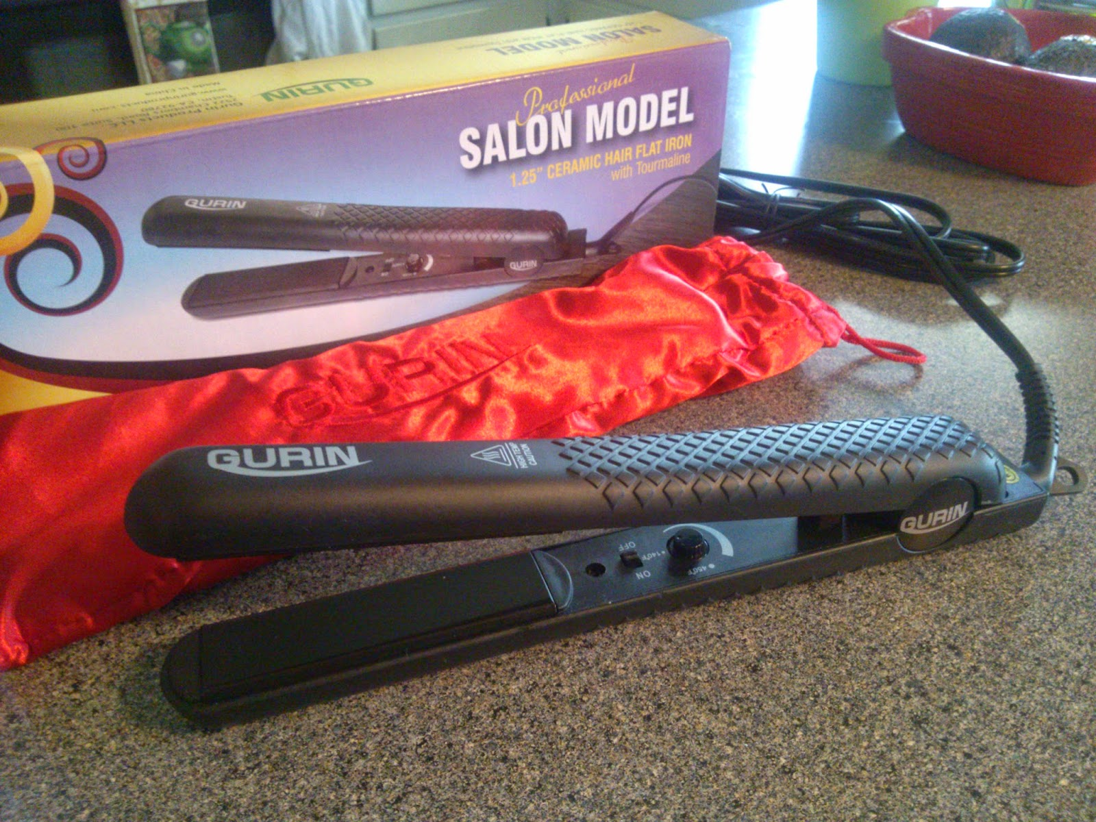 Gurin Salon Model Ceramic Flat Iron Review