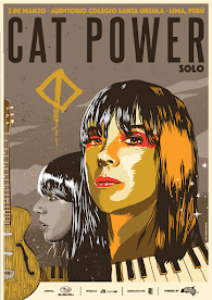 CAT POWER (1ra VEZ) AUDITORIO COLEGIO SANTA URSULA. 2 DE MARZO 2017