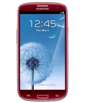 Samsung Galaxy S3 Rojo Tienda Claro Perú
