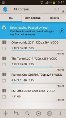 aTorrent PRO - Torrent App android apk - Screenshoot