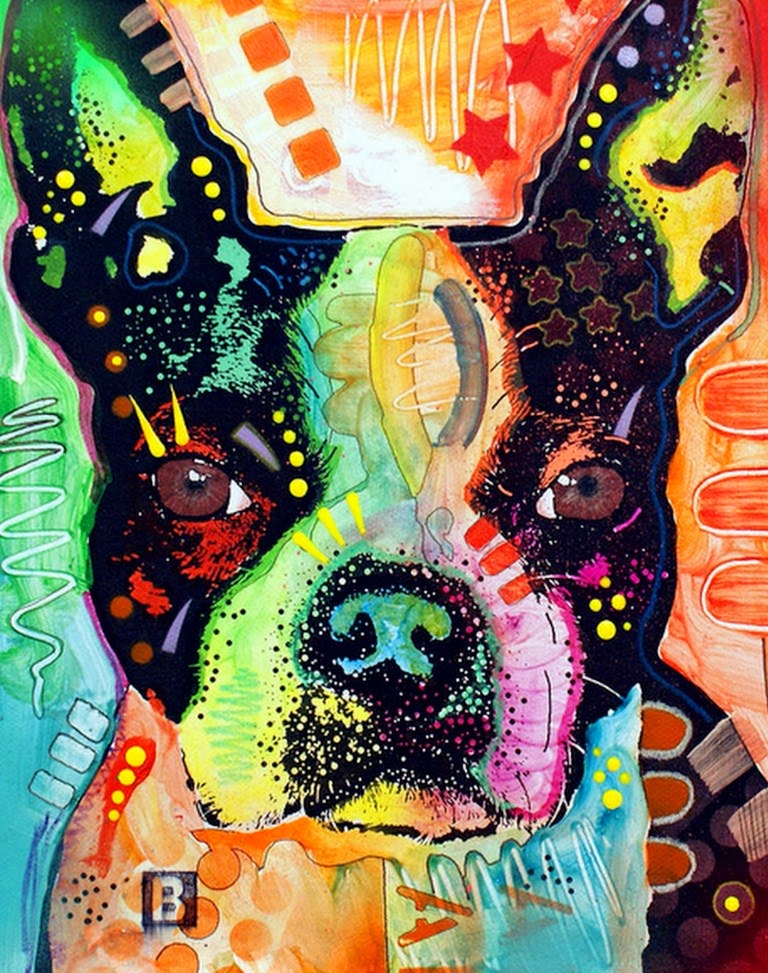 Cuadros pinturas oleos im genes retratos de perros for Que es el estilo contemporaneo