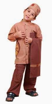 Gambar baju muslim anak modern keren