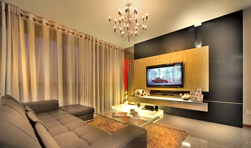 My living room design interior design singapore ideas for Living room interior design singapore