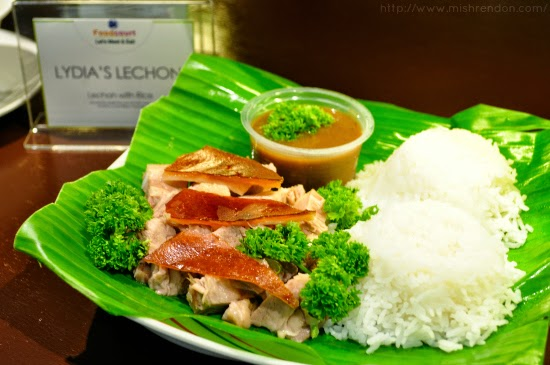 Lechon with Rice from Lydia's Lechon SM Fairview Foodcourt