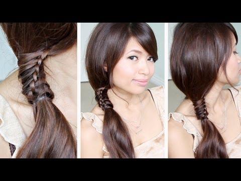 Peinados Con Trenzas Youtube - Peinados para pelo rizado Fotos de los looks de moda