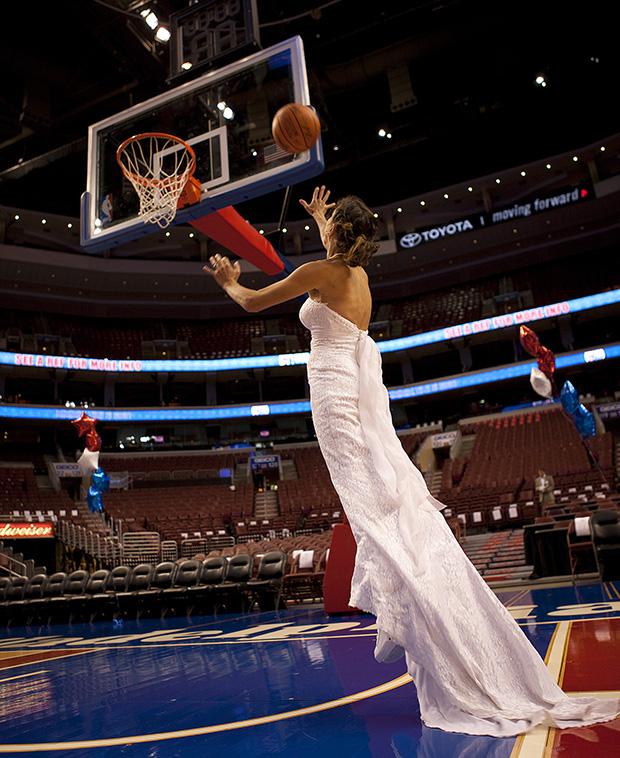 費城76人隊(Philadelphia 76ers)籃球場