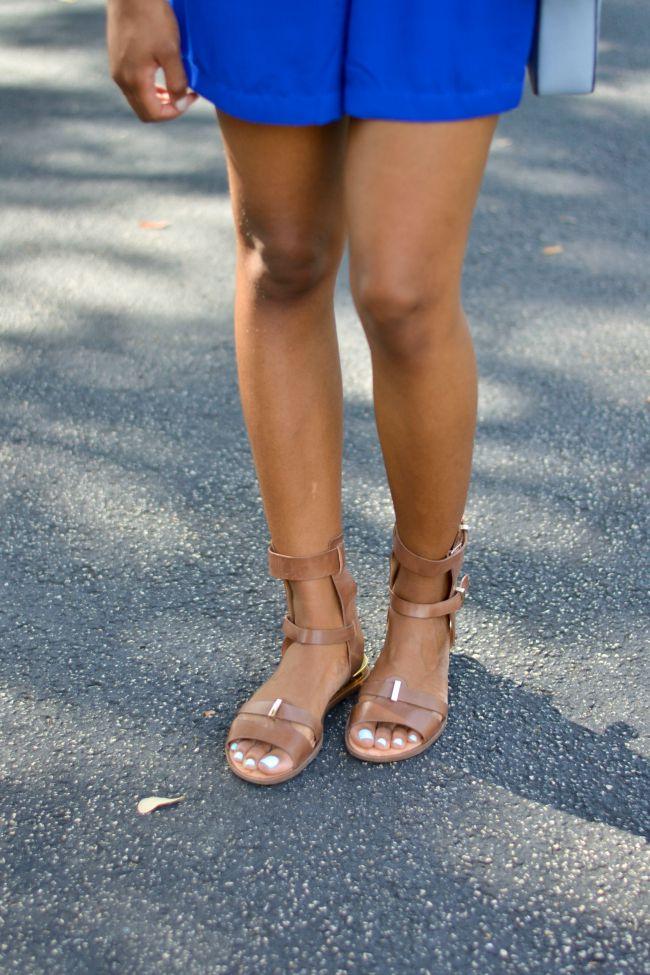 Schutz Gladiator Sandals | Summer Outfit