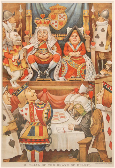 Booktryst Scarce Alice In Wonderland Posters C 1900 Hit