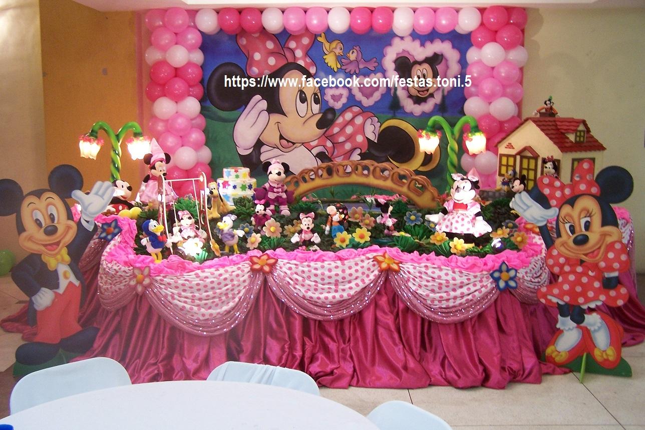 decoracao festa minnie rosa : decoracao festa minnie rosa:Festas Toni – Decoração de Festa Infantil: Minnie Rosa – 7 Tampos