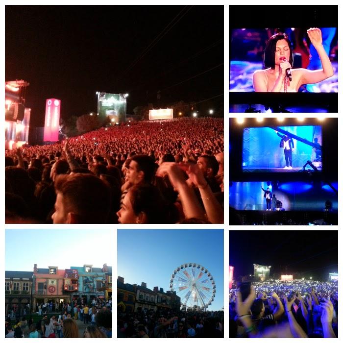 Rock in Rio 2014 Justin Timberlake Jessie J Dia 1 Junho