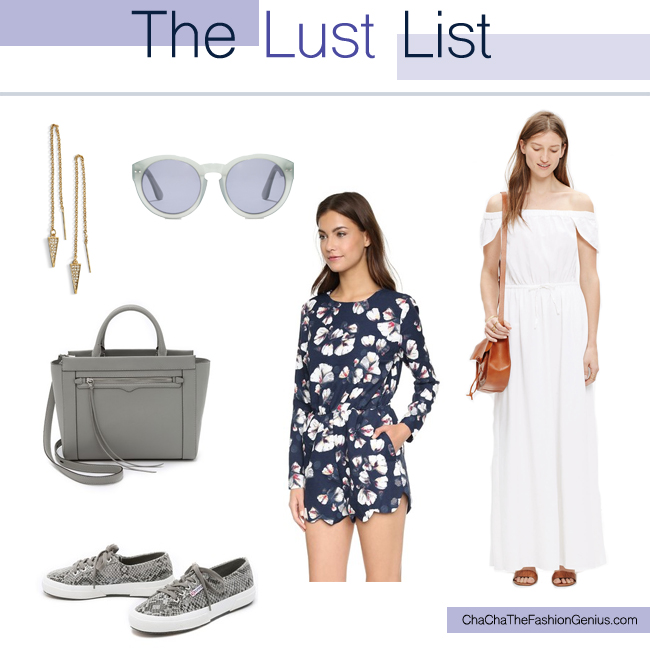 The Lust List | July