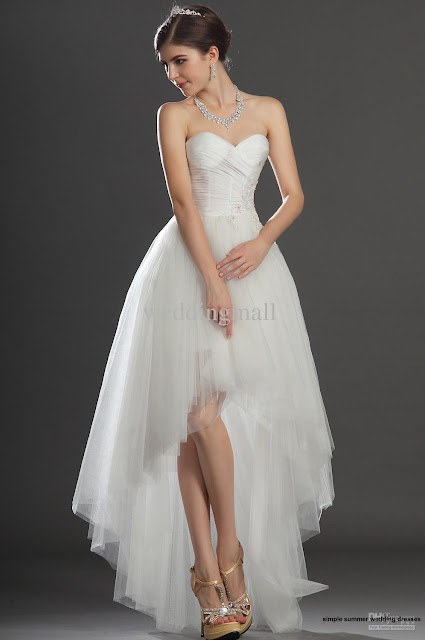 simple summer wedding dresses