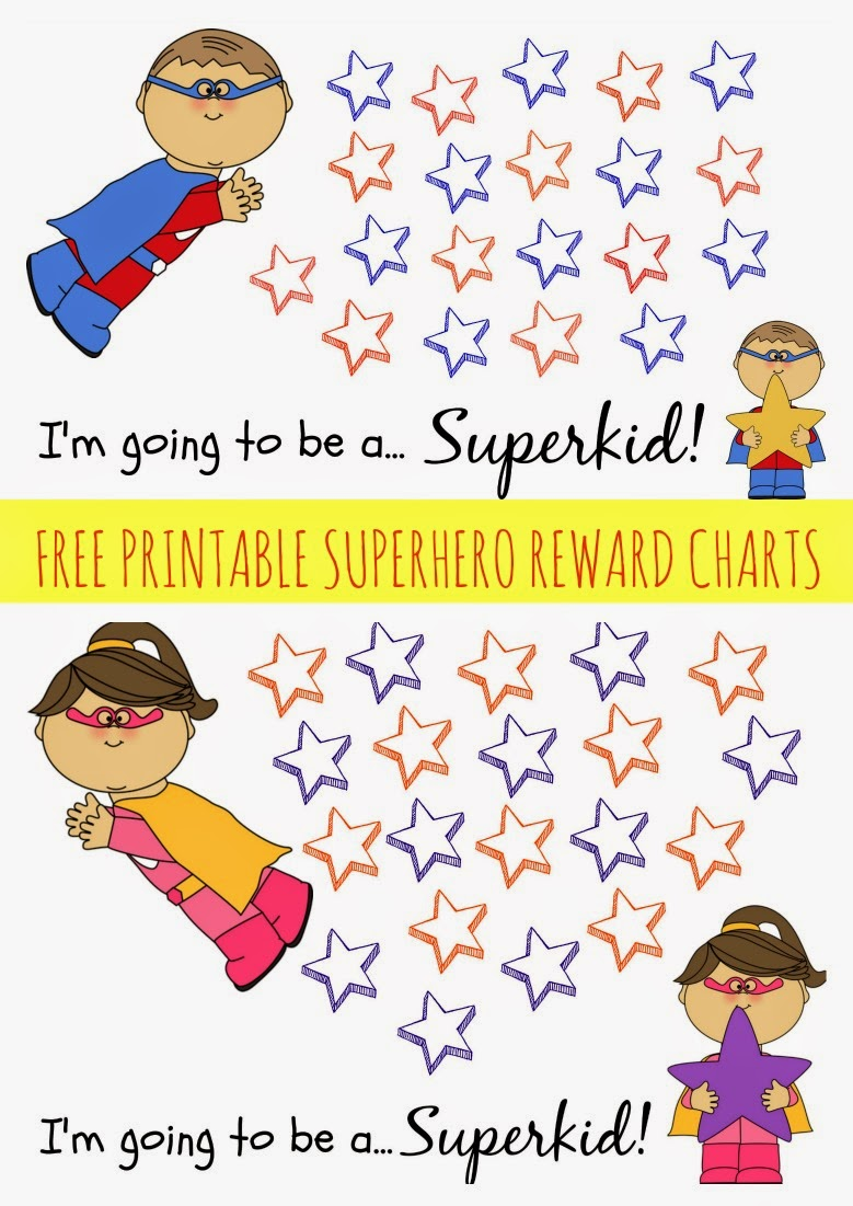 Free Printable Reward Chart || The Chirping Moms