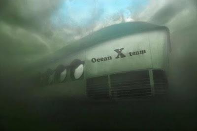 Equipo Ocean X en el mar Báltico