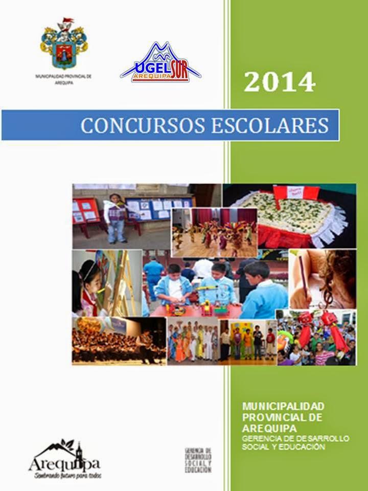 CONCURSOS ESCOLARES 2014 - MUNICIPALIDAD PROVINCIAL Y UGEL SUR