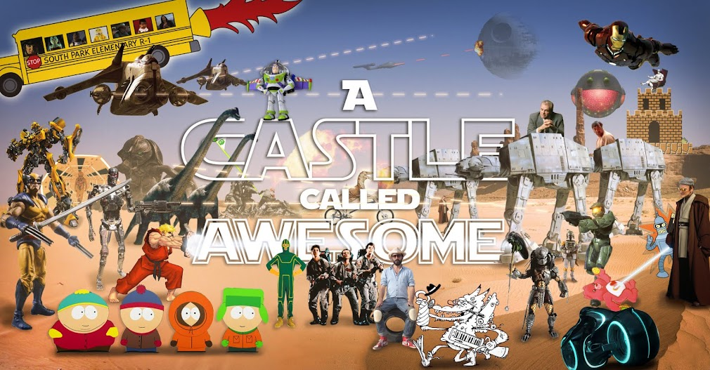 A CASTLE CALLED AWESOME