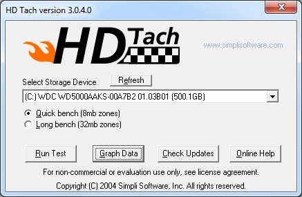 HD Tach