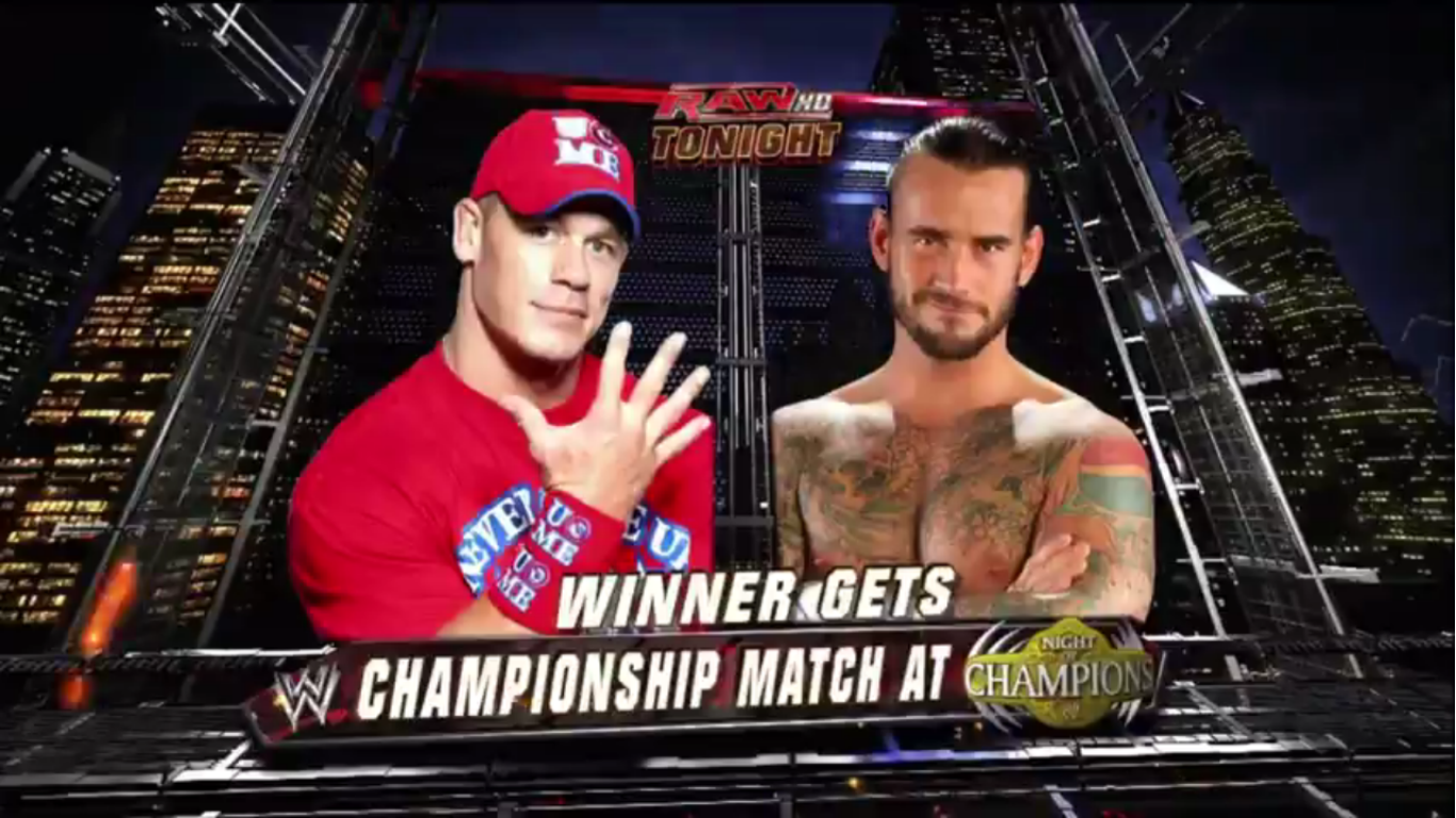 Evan Bourne And John Cena