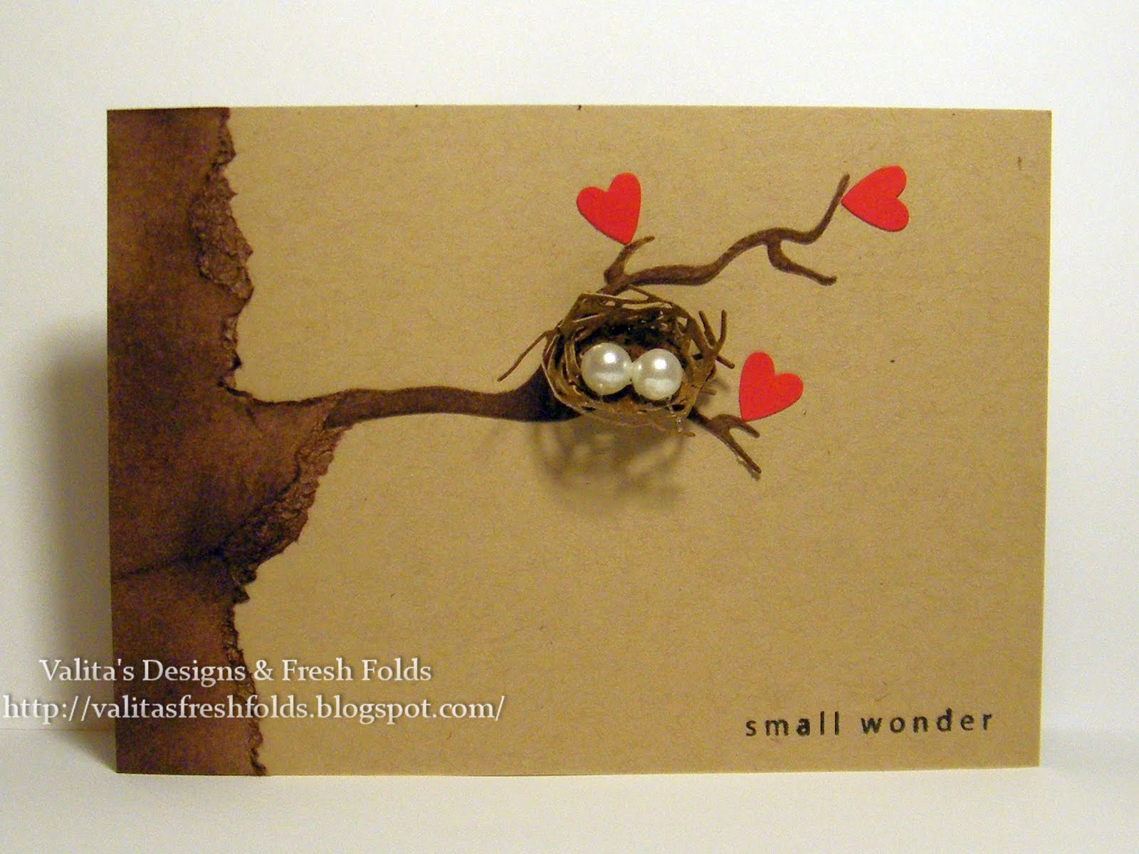 Valitas Designs Fresh Folds Making A Bird Nest With Your
