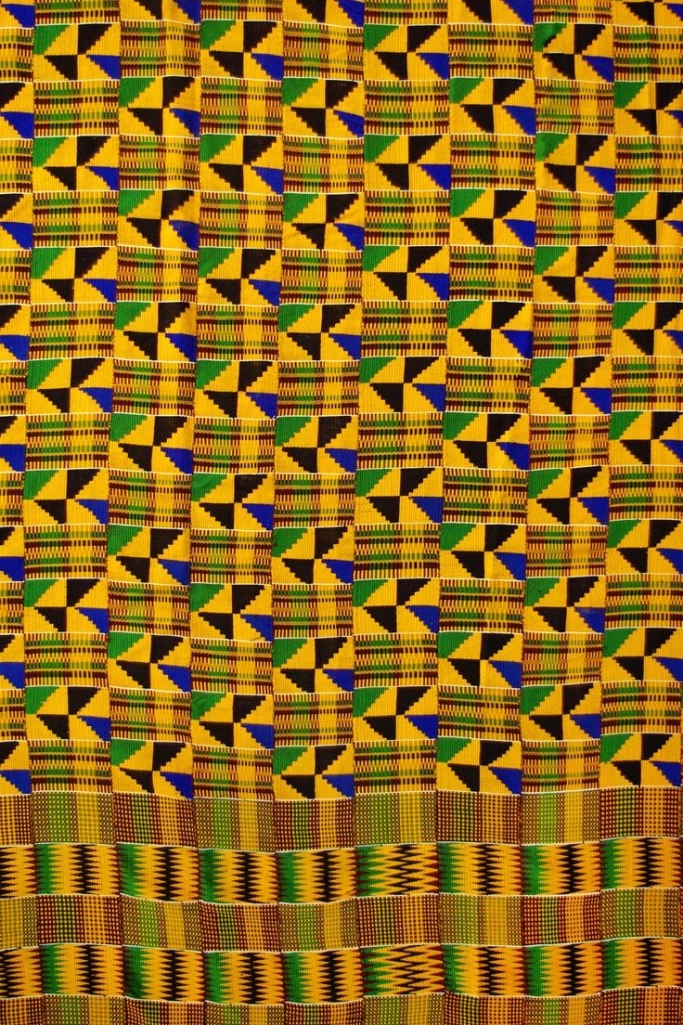 Ashanti kente cloth
