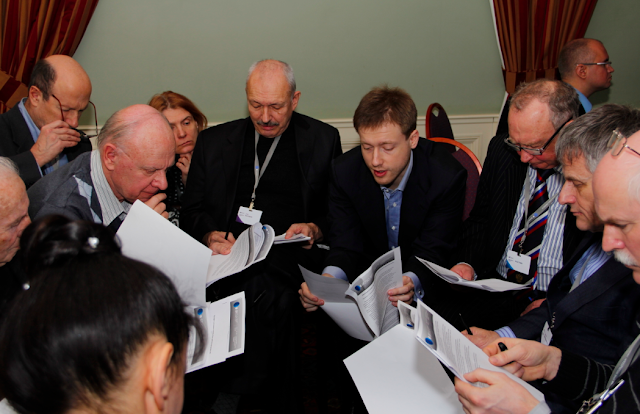 Dmitry Itskov and other experts discussing new political party