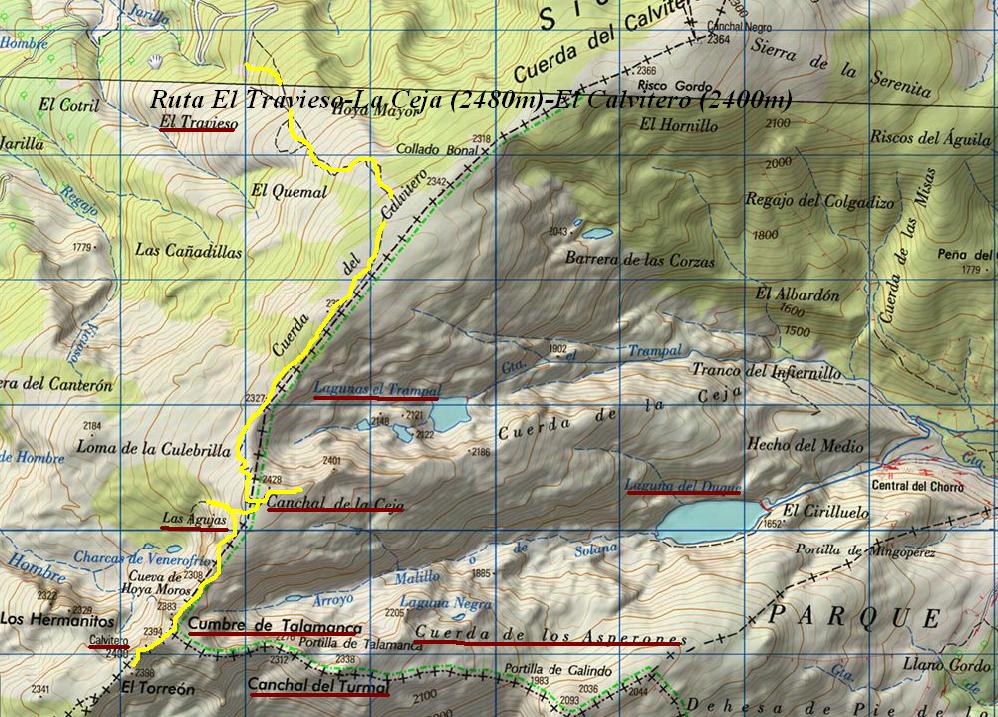 DONDE ME LLEVEN MIS BOTAS: ASCENSIÓN AL CALVITERO (2405m)