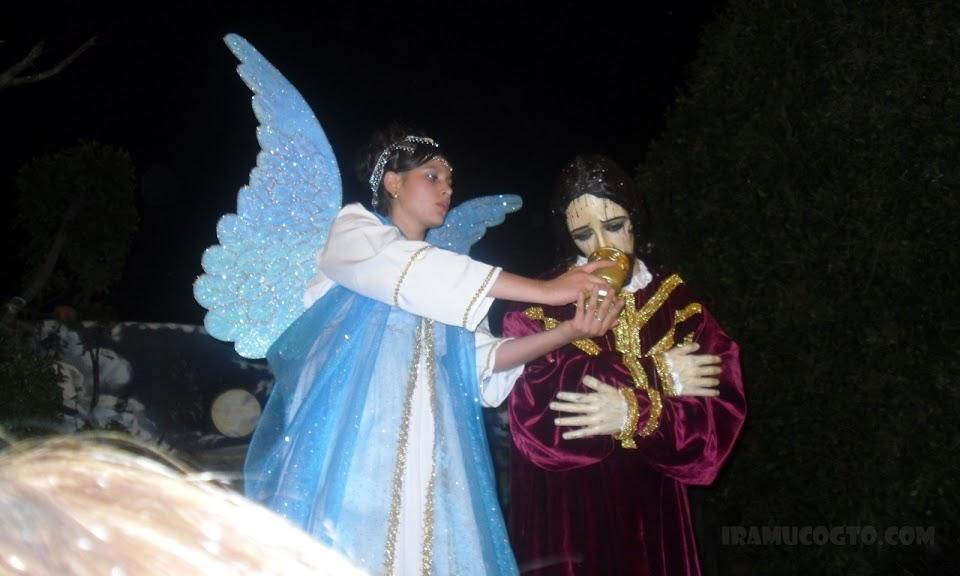 Señor de las Tres caidas En el Huerto de los olivos en Iramuco guanajuato 2012