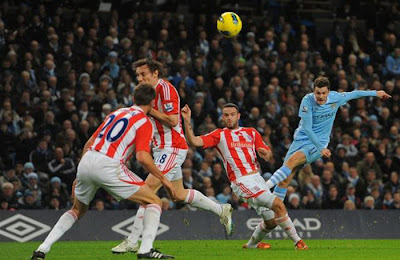 Manchester City 3 - 0 Stoke City (1)