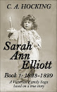 SARAH ANN ELLIOTT Book 1: 1823-1829