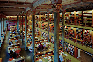 national library of sweden, books, columns