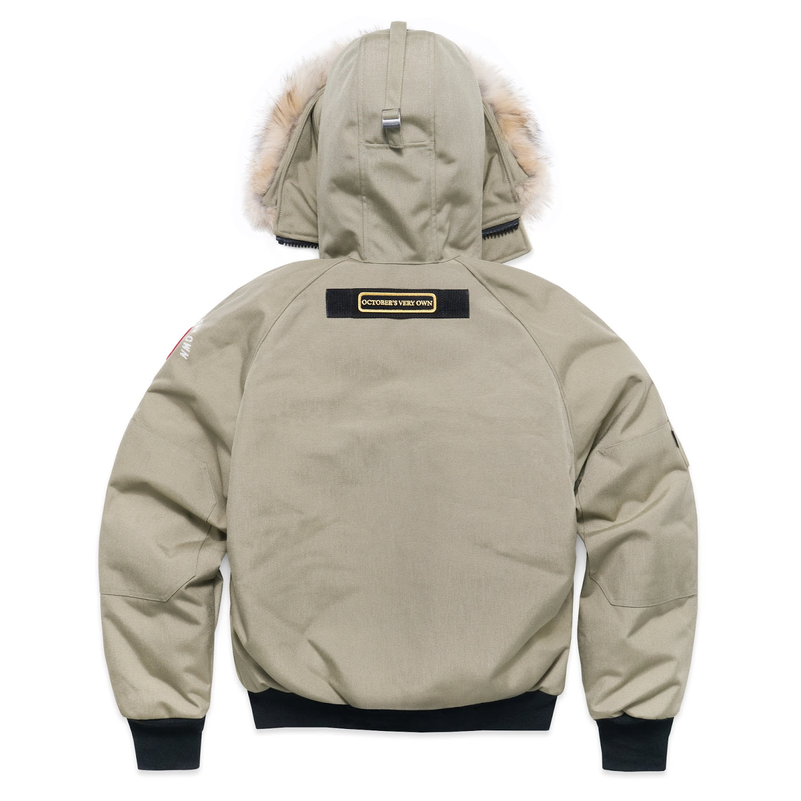 canada goose Bomber Jackets BEIGE