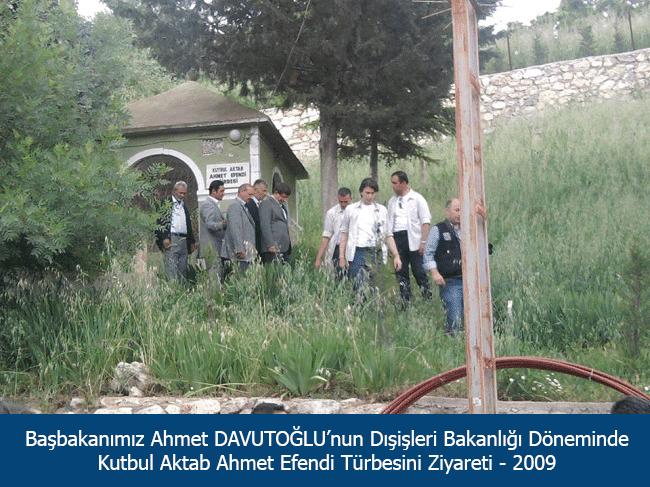Ahmet Davutoğlu'nun Ziyareti