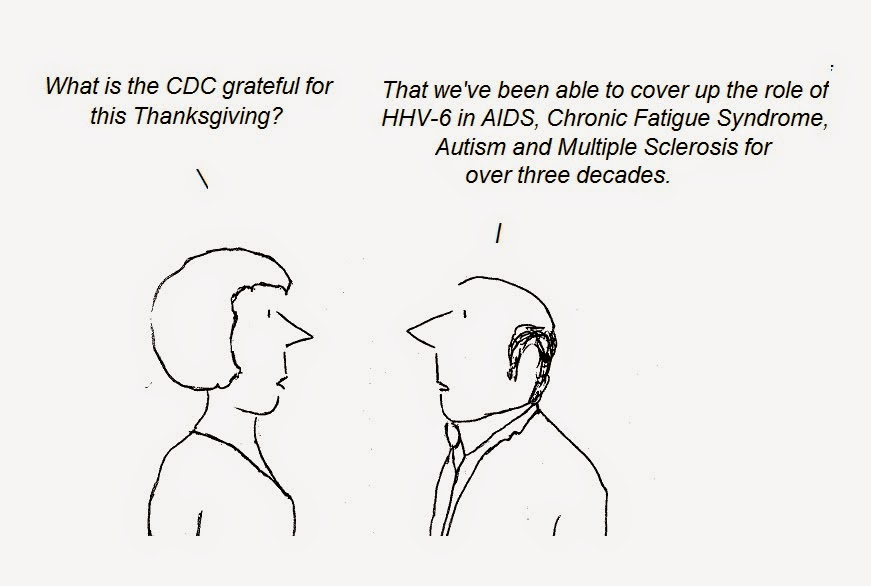 cartoon, cdc, cfs, aids, hiv, autism, multiple sclerosis, chronic fatigue syndrome