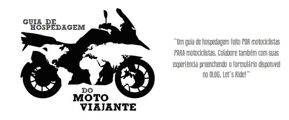 Guia de Hospedagem do Moto-Viajante