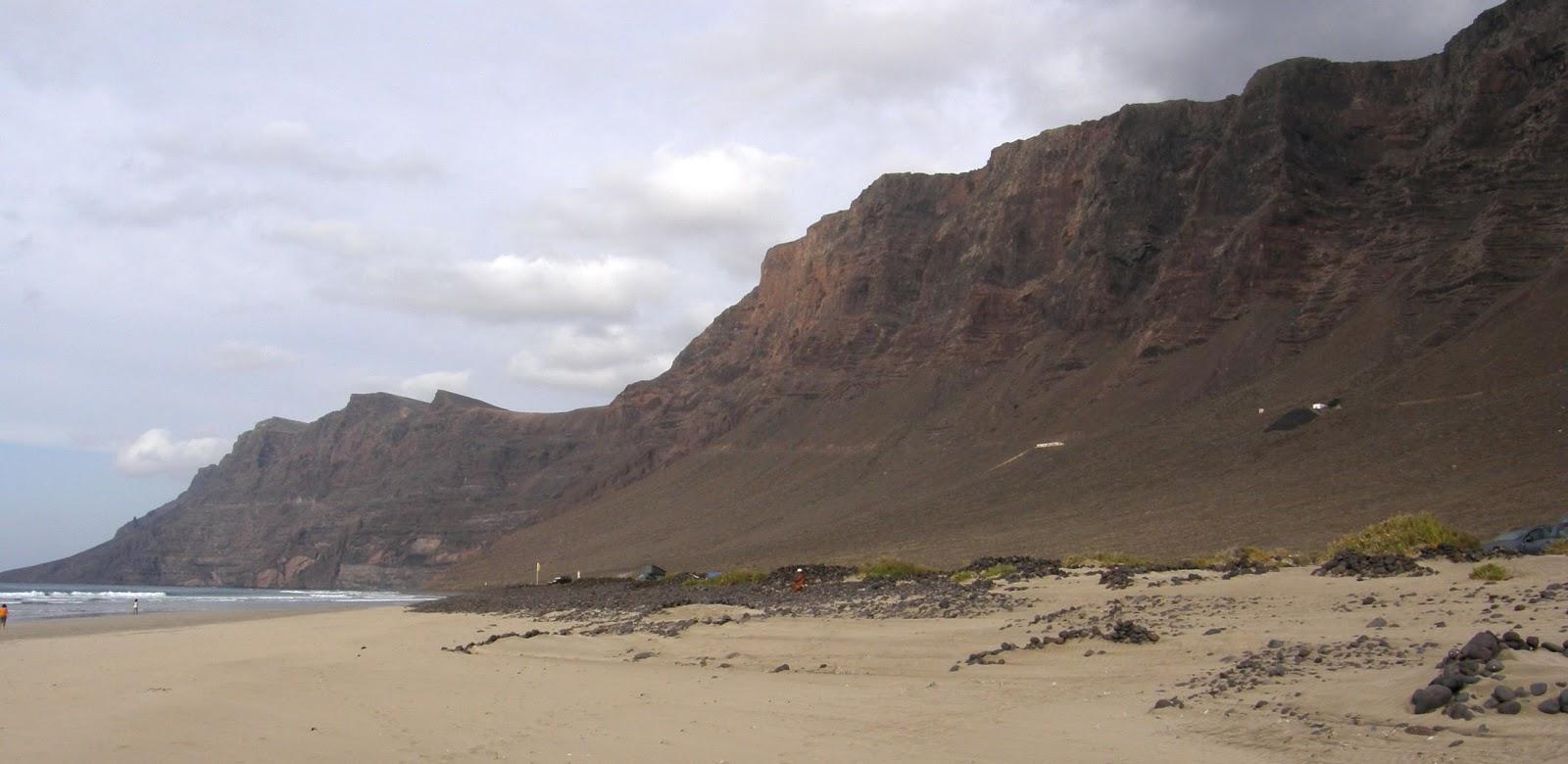 Playa nudista Famara (Lanzarote)