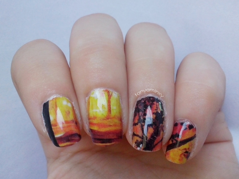 31DC2014 Day 27: Inspired By ARTWORK - Oil Painting Water Decals Born Pretty Store
