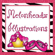 Melonheadz illustrating