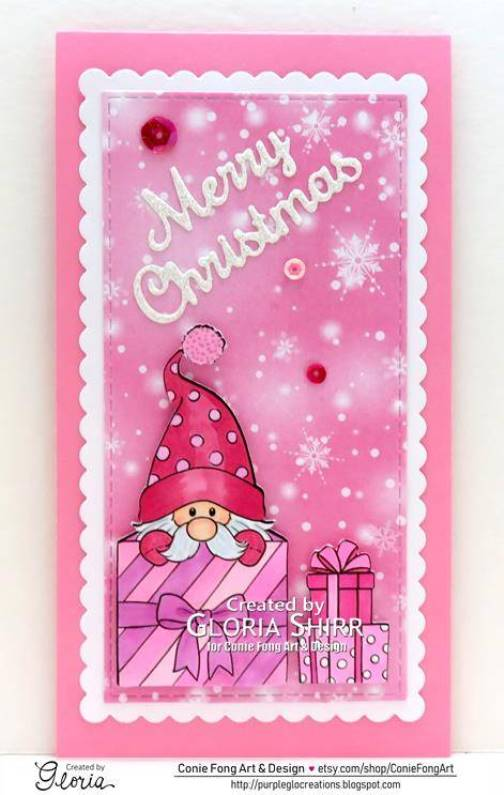 Featured Card at Dragonfly Dreams Challenge Blog