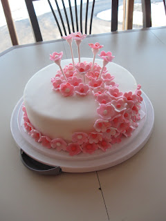 A Cake Designed For Young Ladies Holy Communion