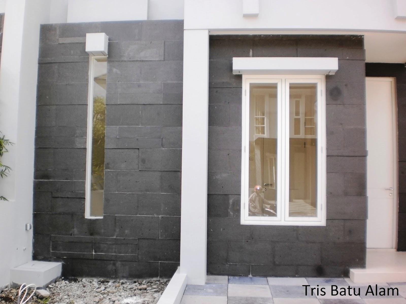 Rumah Minimalis Variasi Batu Alam Desain Rumah